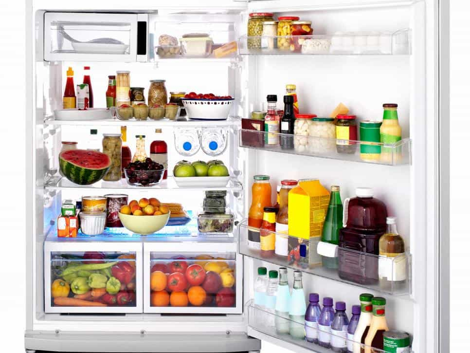 مواد نیازمند نگهداری در یخچال