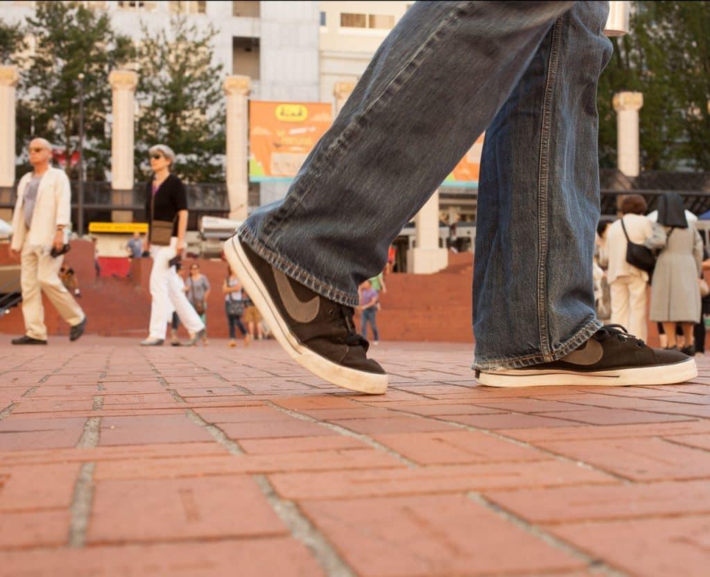 پیاده روی و اثر آن بر روی پاها