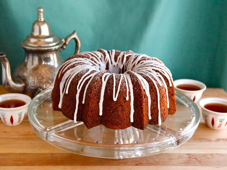 کیک سیب و عسل روش هاشانا نماد شیرینی سال جدید عبری