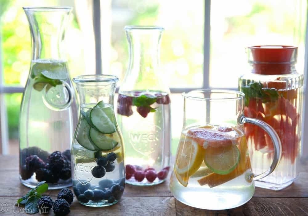 مصرف آب آشامیدنی عطم دار