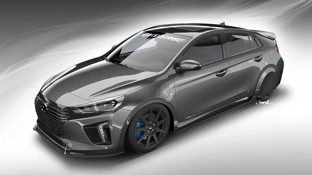 همکاری Hyundai و Bisimoto برای ساخت خودروی HyperEconiq Ioniq