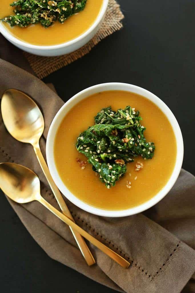 سوپ کدو تنبل ساده