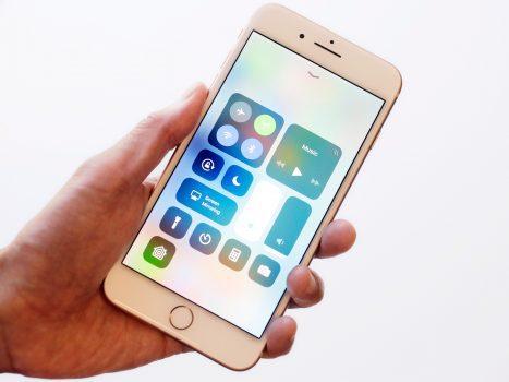 چگونه در سیستم عامل جدید iOS 11 دسترسی به وای فای و بلوتوث را قطع کنیم؟