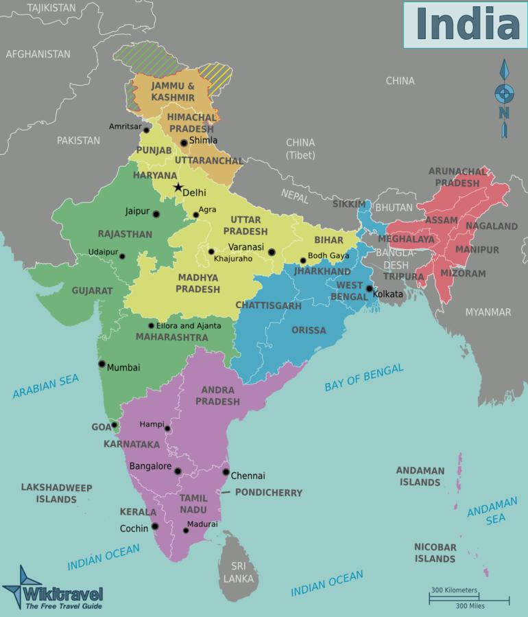 آشنایی با کشور هندوستان