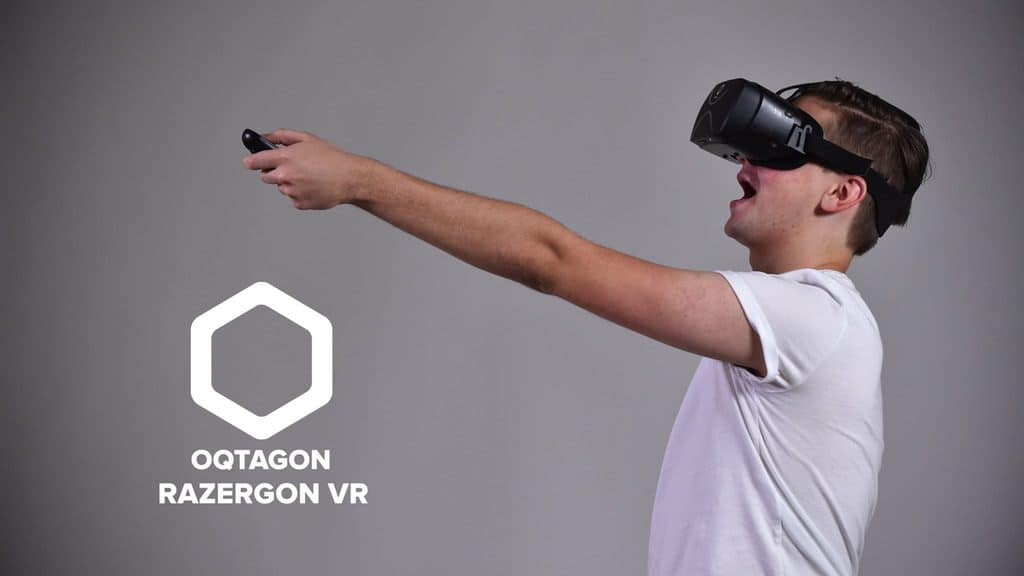 هدست واقعیت مجازی Razergon VR برای کار کردن نیاز به موبایل یا کامپیوتر ندارد
