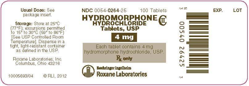 حالت تهوع و استفراغ، از عوارض جانبی متوادل در اثر مصرف داروی هیدروموفون است.