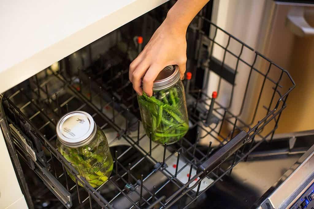 پخت سبزیجات در ماشین ظرفشویی