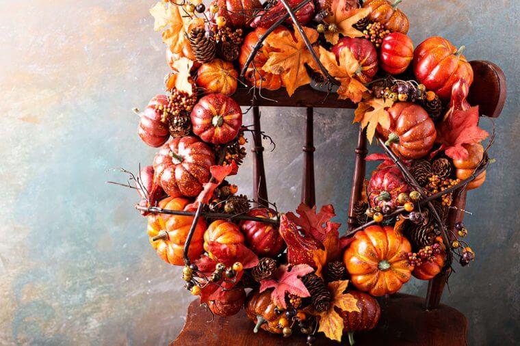 تزئین پاییزی خانه