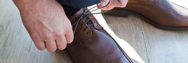 لکه واکس کفش