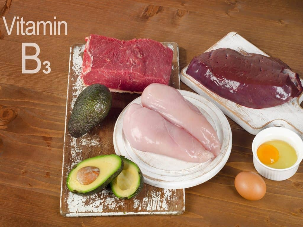 منابع غنی از ویتامین B3