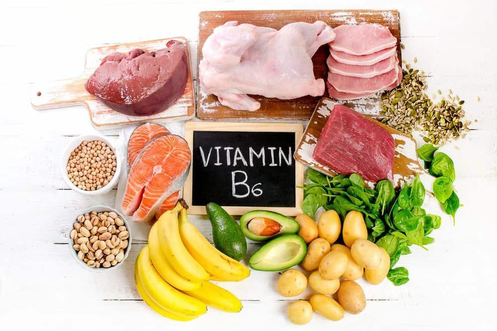 منابع تغذیه ای ویتامین B6