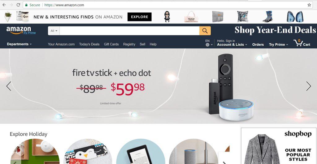 آمازون - بهترین فروشگاه اینترنتی در دنیا