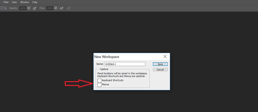 تمامی تغییراتی که قبلاً در تنظیمات نرم افزار انجام دادهاید، به این محیط منتقل میشود