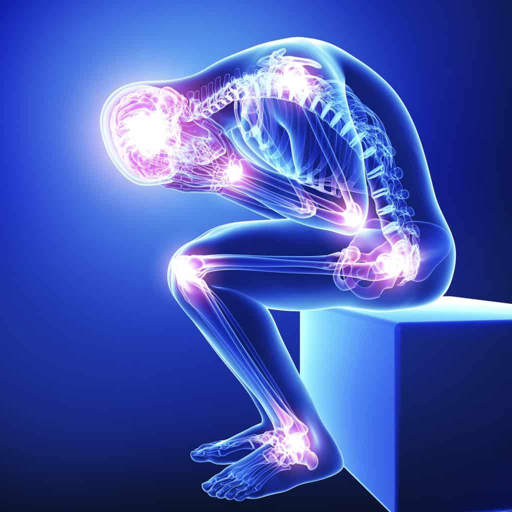 انواع درد بدنی