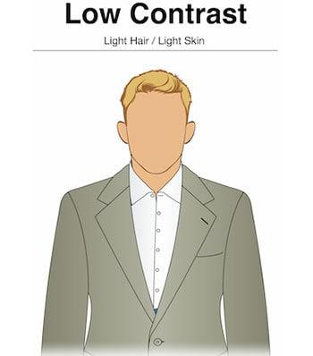 رنگ پوست و مو در استایل مردانه