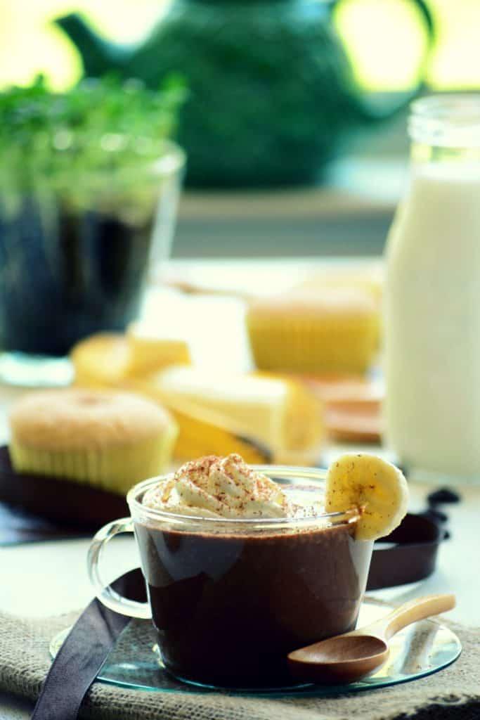 شکلات داغ موزی