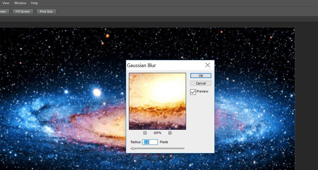 محو کردن تصویر در نرم افزار فوتوشاپ
