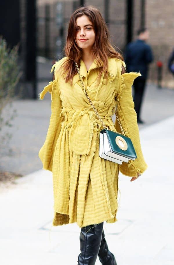 رنگ لباس برای موی قهوهای