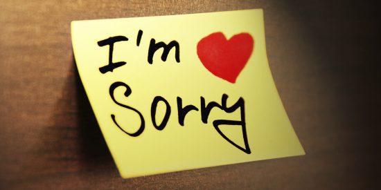 عذرخواهی کردن در این ۷ موقعیت را کنار بگذارید