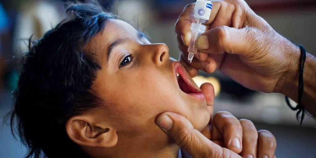 واکسن خوراکی فلج اطفال
