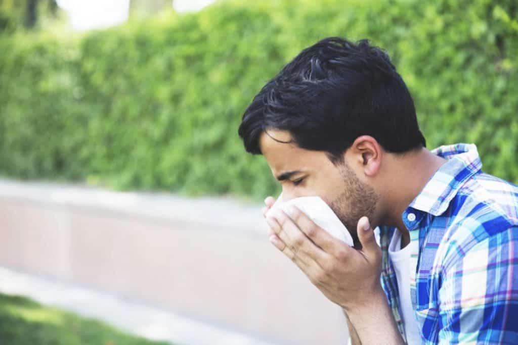 پیش آگهی در  ابتلا به عارضه آلرژی
