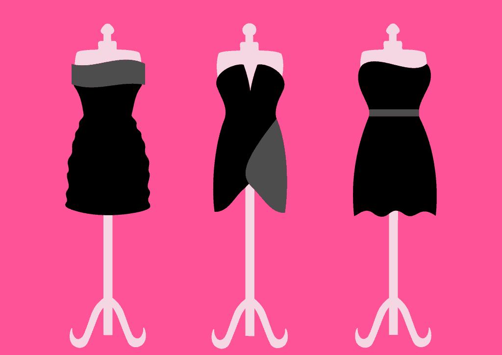 بهترین لباس مشکی مجلسی کوتاه را برای اندام خودتان انتخاب کنید