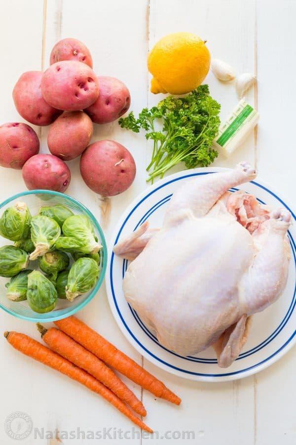 وسایل لازم برای کباب مرغ در فر