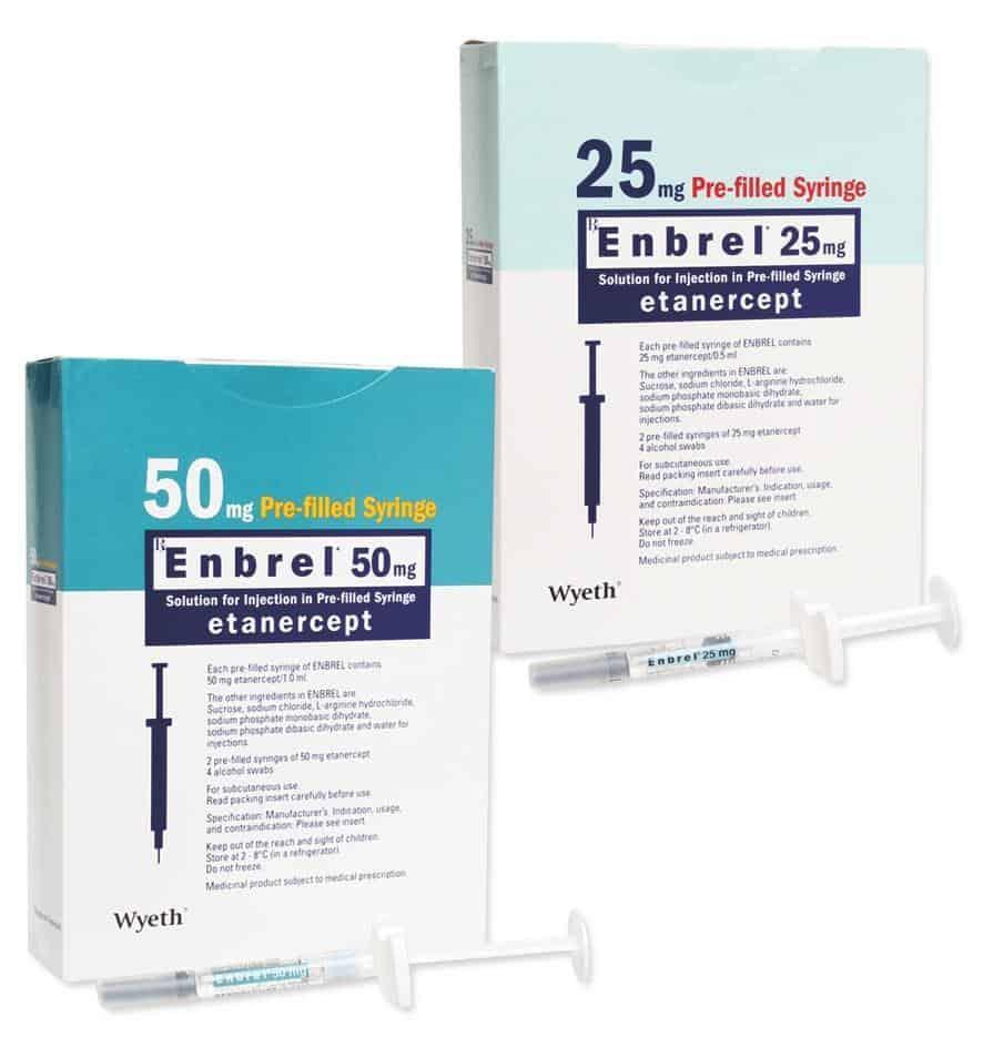 استفاد از داروی انبرل یا اتانرسپت باعث افزایش خطر ابتلا به انواع خاصی از سرطان میشود