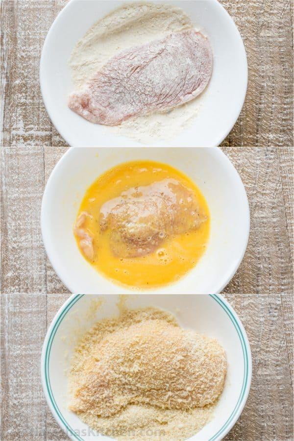 سینه مرغ سوخاری مغزدار