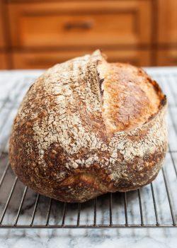 نان خمیر ترش ؛ طرز تهیه با آموزش مرحله به مرحله و تصویری