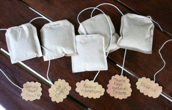چای کیسهای خانگی و ارگانیک را به چند روش متفاوت در خانه بسازیم