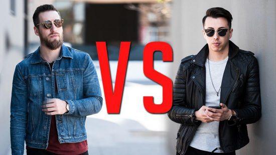 ژاکت چرم یا ژاکت جین؟ کدامیک برای شما مناسبتر است؟