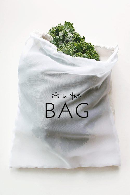 کیسه خرید میوه و سبزی قابل بازیافت