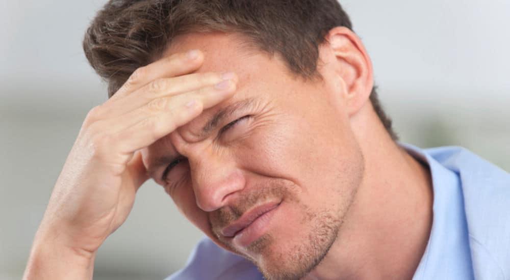 سردرد، از عوارض جانبی شایع در اثر استفاده از داروی اتانرسپت است.