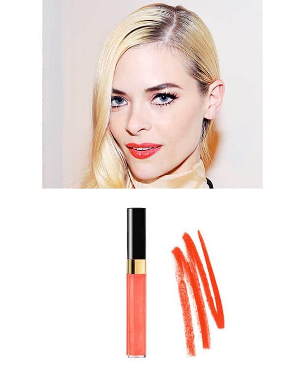 بهترین رنگ رژ لب برای آرایش در بهار