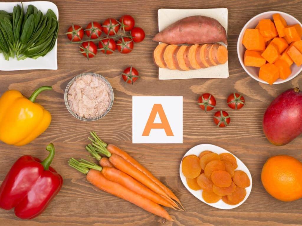 منایع ویتامین A