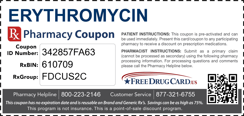 آنتی بیوتیک اریترومایسین