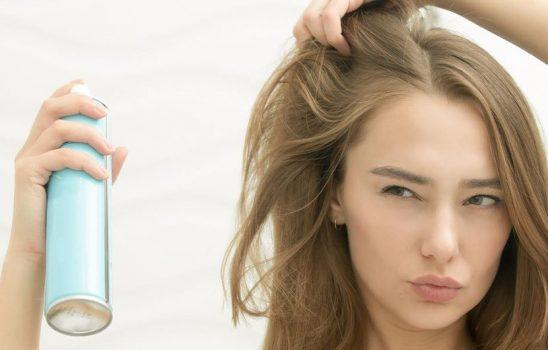 آیا از شامپوی خشک درست استفاده میکنید؟ سشوار کشیدن موهای فر