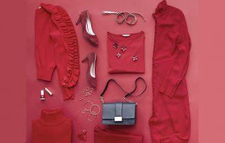 تیپ سرتاپا قرمز یک سبک خاص برای خانمهای شیک پوش