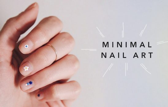 زیباترین مدلهای آرایش ناخن مینیمال برای خانمهای ساده پسند