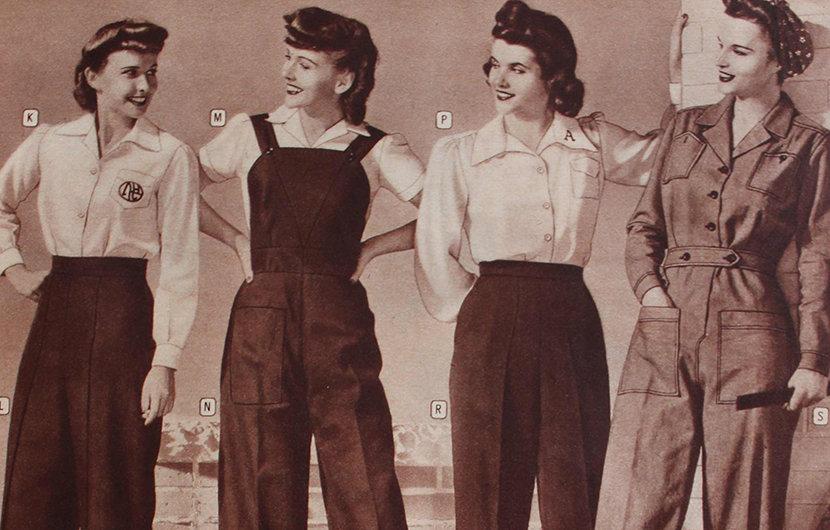 لباس کار زنانه و تحولاتی که آن را در طول تاریخ شکل داد