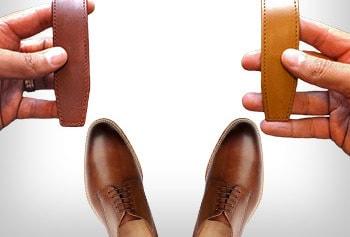 اصول اولیه برای ست کردن کفش و کمربند