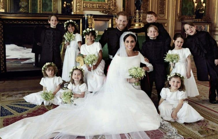 عروسی سلطنتی و مهمانهای شیک پوش این رویداد مهم