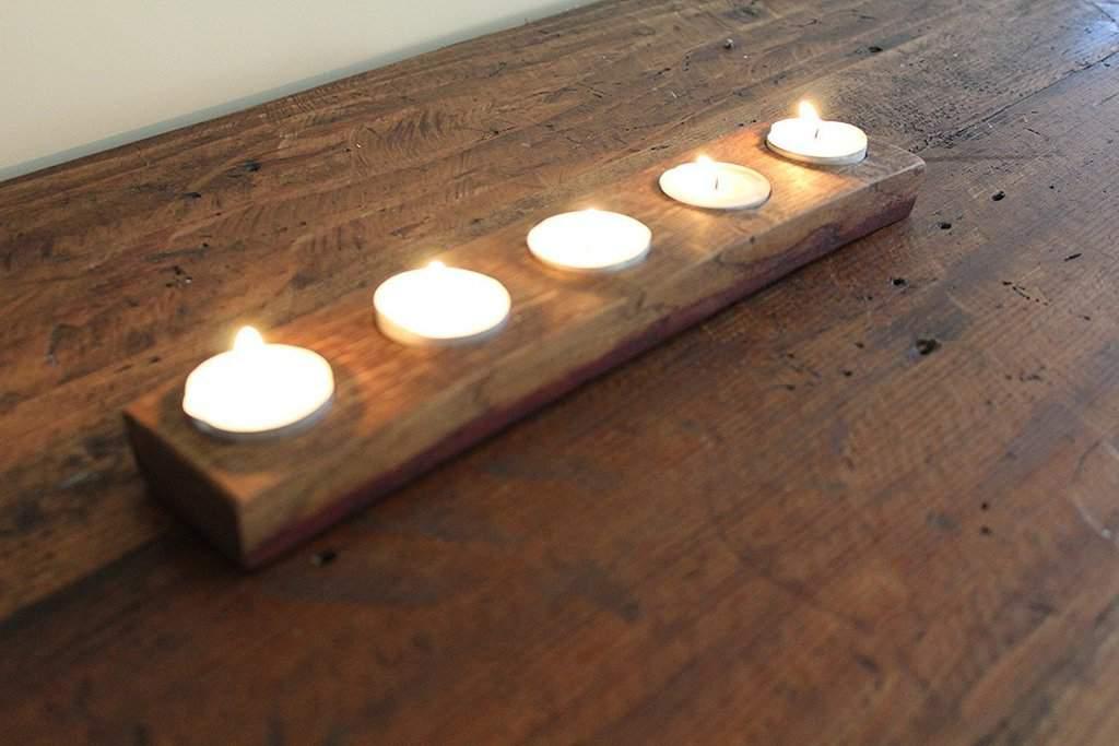 لکه شمع و رنگ