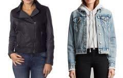 توصیهها و نکات مهم و کلیدی برای استایل کت جین و کت چرم زنانه