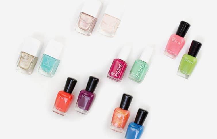 چند ترکیب رنگ لاک ناخن زیبا که تابستان امسال میتوانید امتحان کنید