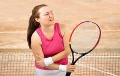 بیماری آرنج تنیس بازان