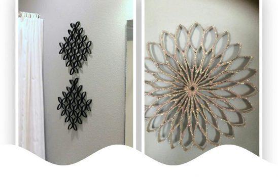 آموزش ساخت آثار هنری ساده و زیبا با استفاده از لوله دستمال کاغذی