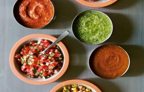 طرز تهیه سالسا به سبک رستوران به همراه چندین دستورالعمل متنوع اضافی