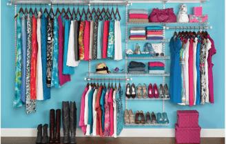 با این روش در سی دقیقه کمد لباسهای نامرتب خود را سازماندهی کنید